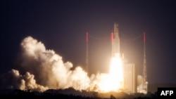«Azerspace-1» 2013-cü il fevralın 8-də orbitə buraxılıb.