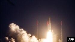 Azerspace-1 сунъий йўлдоши Франция Гвианасидаги фазо марказидан учирилди.