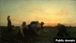 """Жуль Брэтон, """"Палольшчыцы"""" (1868)"""