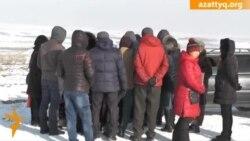 Протест жителей Айтея