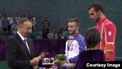 Elvin Mürsəliyev, Yunan-Roma güləşində qızıl medalın qalibi
