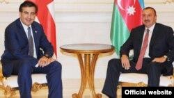 Ադրբեջանի եւ Վրաստանի նախագահների Բաքվում կայացած հանդիպումներից մեկը, արխիվ