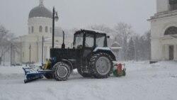 Situaţia din R.Moldova după ninsorile abundente