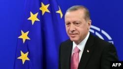 Președintele Recep Tayyip Erdogan în Parlamentul European, Bruxelles, 5 octombrie 2015