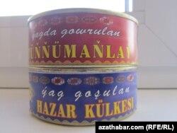 Türkmenistanda öndürilýän balyk önümleri