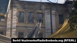 Пожежа на Хрещатик 40/1 біля ЦУМ. Київ, 20 червня 2017 року