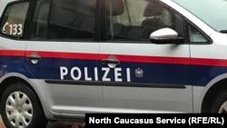 Полицейская машина в Австрии, архивное фото