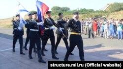 Російські піхотинці в Севастополі