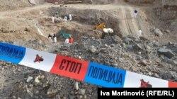 Ekshumacija tela u masovnoj grobnici 'Kiževak'