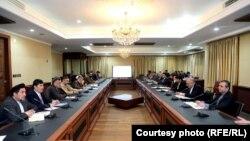 کمیته تهیه و توحید پیشنویس طرح صلح در شورای عالی مصالحه ملی افغانستان