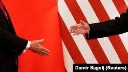 Susret američkog predsjednika Donalda Trumpa i kineskog predsjednika Si Đinpinga u Pekingu u novembru 2017.
