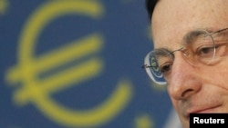 European Central Bank head Mario Draghi