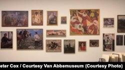 Часть выставки Махачевой в Музее Ван Аббе