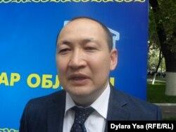 Руководитель управления координации занятости и социальных программ Павлодарской области Балтабай Каппасов.