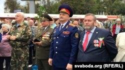 У цэнтры – вярхоўны атаман Мікалай Ярковіч
