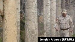 Өзбекстандын Сох анлавы менен Кыргызстандын Чарбак айылынын чеги