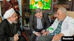 Hassan Rohani i Fidel Castro