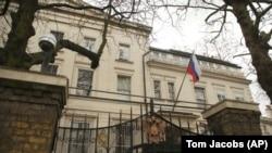Здание посольства России в Лондоне.