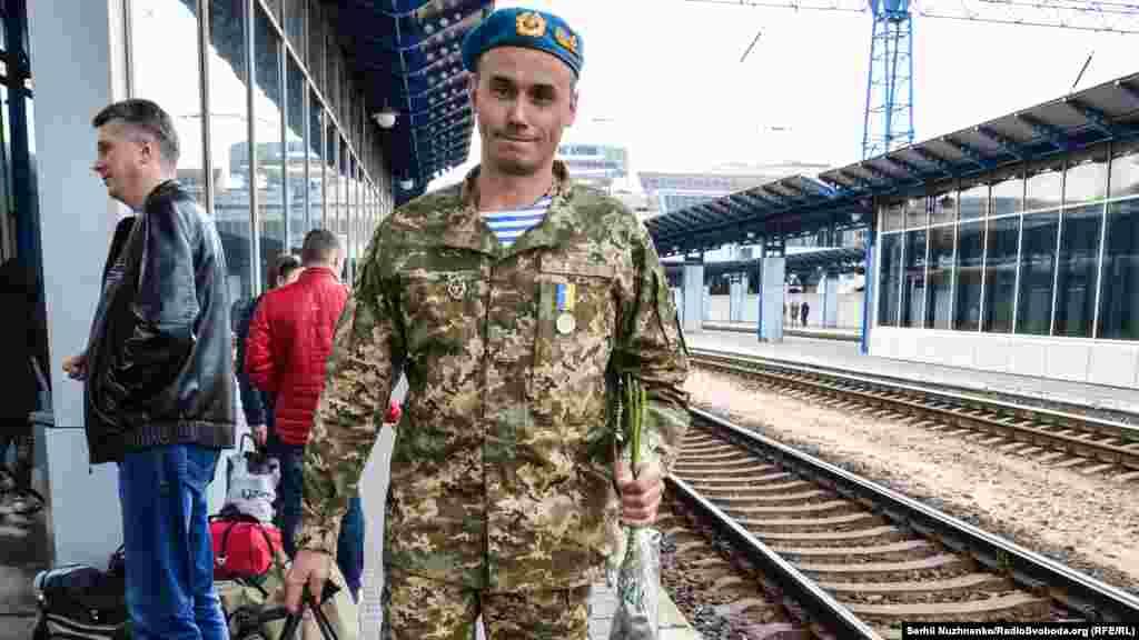 Олександр, 42 роки. Воював у81-й десантно-штурмовій бригаді, до війни – водій у Переяслав-Хмельницькому