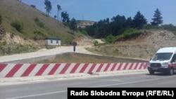 Каменоломот кај Билбил Камен над Битола.
