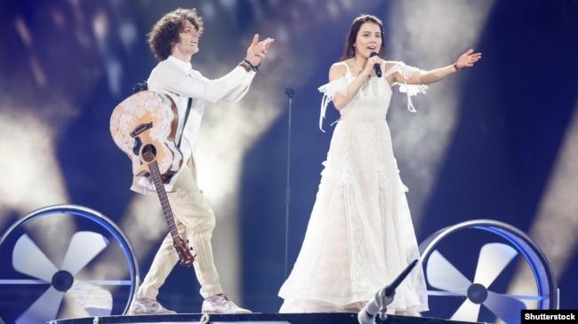 Naviband выступіў на Эўрабачаньні-2017 у Кіеве зь беларускамоўнай песьняй