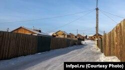 Поселок Сотниково в Бурятии