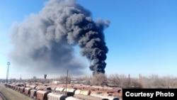 Бишкектеги өрт.