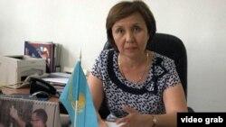 Профессор Айгүл Балмұханова. Алматы, 24 шілде 2014 жыл.