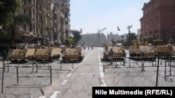 Военная техника у площади Тахрир