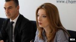 Даниела Арсовска, Сојуз на стопански комори