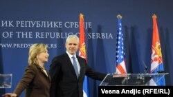 Secretarul de stat Hillary Clinton la Belgrad