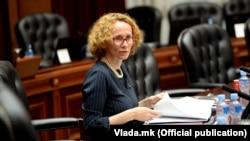 Архивска фотографија- министерката за одбрана Радмила Шекеринска
