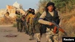 Pripadnici al Nusra fronta u sirijskoj provinciji Idlib, maj 2015.