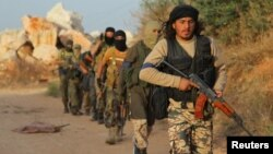 Боевики «Джабхат ан-Нусры» в Сирии.
