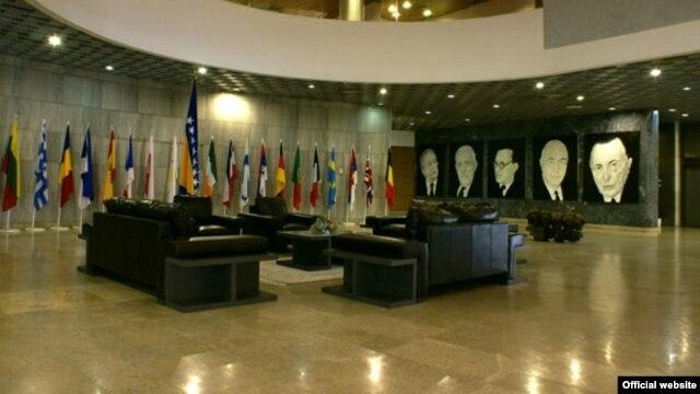 Zgrada državnog parlamenta - ilustracija
