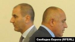 Цветан Цветанов и Бойко Борисов.