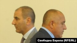 Tsvetan Tsvetanov (left) and Boyko Borisov established the GERB party, but have gone their separate ways.