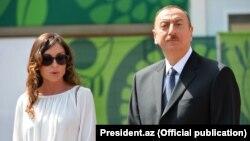 Mehriban Əliyeva və İlham Əliyev (foto: president.az)