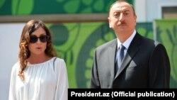 Президент Азербайджана ИльхамАлиев и его жена Мехрибан Алиева.