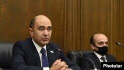 Глава парламентской фракции «Просвещенная Армения» Эдмон Марукян