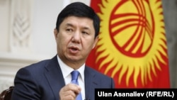 Kyrgyz Prime Minister Temir Sariev ordered a draft bill that would have cut a special subsidy for people living in Kyrgyzstan's mountains withdrawn for revision.