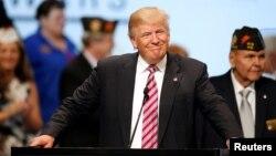 Республикачилар партиясидан АҚШ президенти лавозимига номзод Дональд Трамп.
