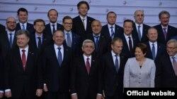 ԵՄ Արևելյան գործընկերության Ռիգայի գագաթնաժողովի մասնակիցները, մայիս, 2015թ․