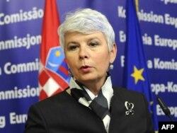 Jadranka Kosor, Brisel, listopad 2010.