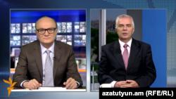ԵՄ դեսպան Պյոտր Սվիտալսկին հարցազրույց է տալիս «Ազատության» հայկական ծառայության տնօրեն Հրայր Թամրազյանին, արխիվ