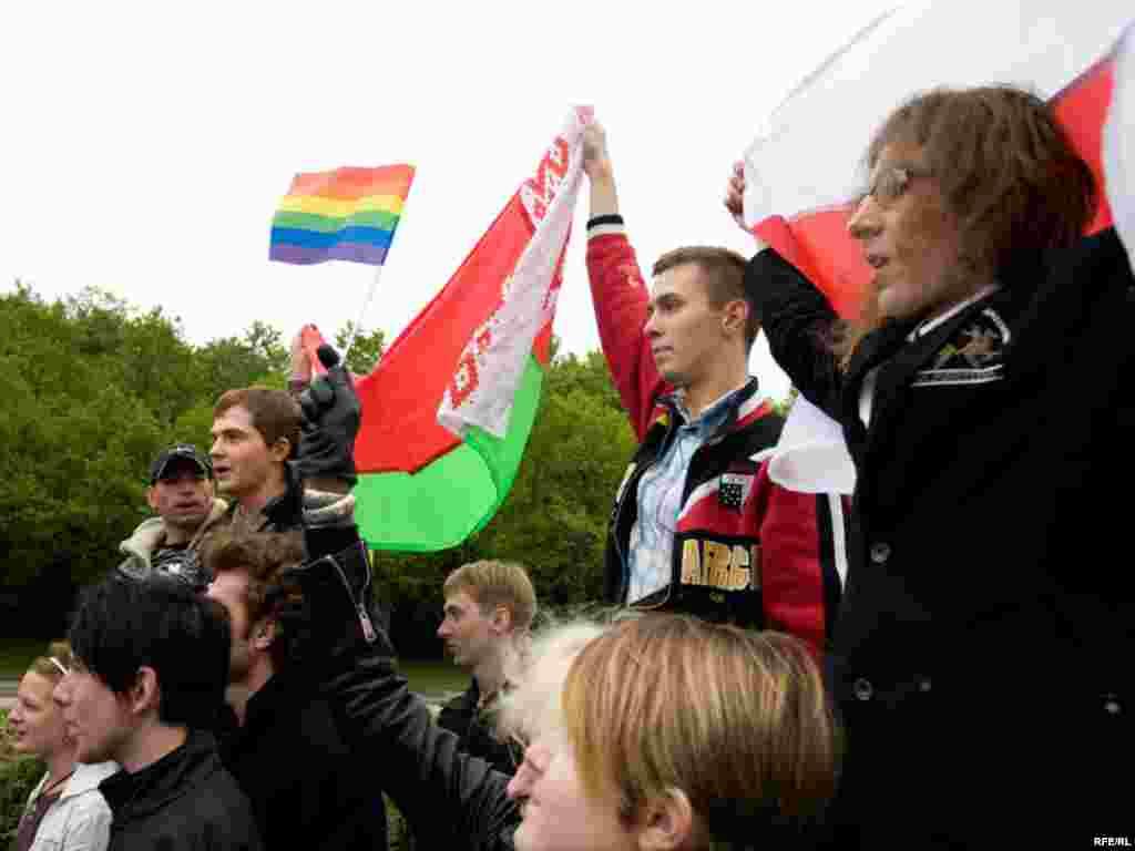 Гей-парад в Москве #1