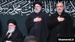 Новоизбранный президент Ирана Ибрахим Раиси (в центре)