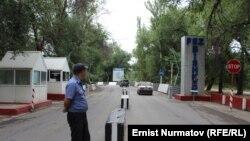 «Бишкек» эркин экономикалык аймагынын Ак-Чий участогунун экинчи эшиги.