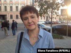 Оксана Забужко у Києві, вересень 2015-го