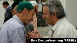 Молебен в центральной мечети Крыма Кебир-Джами по случаю празднования Курбан-байрама (иллюстрационное фото)